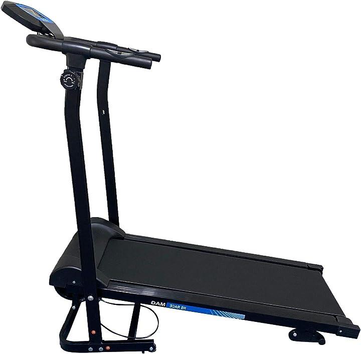 Tapis roulant magnetico fd race mag inclinazione manuale 3 livelli portata 110 kg fd sport hobbyesport B091CQFFZX