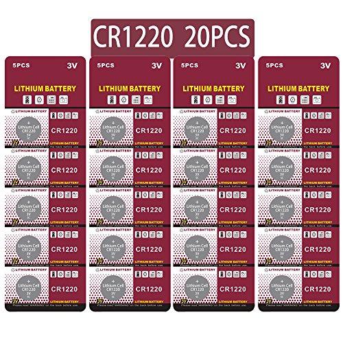 20 Stück CR1220 3V Lithium Knopfzelle Elektro CR 1220 Lithium