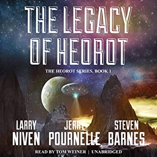The Legacy of Heorot                   By:                                                                                                                                 Larry Niven,                                                                                        Jerry Pournelle,                                                                                        Steven Barnes                               Narrated by:                                                                                                                                 Tom Weiner                      Length: 12 hrs and 41 mins     400 ratings     Overall 4.2
