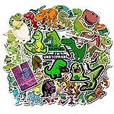 PMSMT 10 pz/Pacco Bambini Simpatici Animali Dinosauro Adesivi Divertenti Impermeabile Skateboard Valigia Telefono Bagagli Adesivi per Laptop Giocattoli Classici