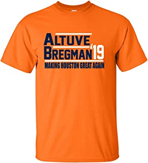 Orange Houston Altuve Bregman 2019 T-Shirt