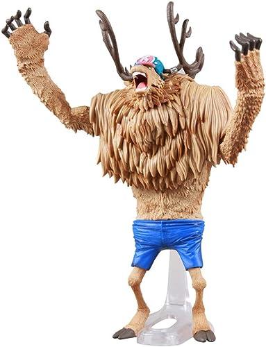 LJBOZ Une Pièce Anime Statue Tony Tony Chopper Jouet Modèle PVC Exquis Anime Décoration Artisanat Collection -7.8in Statue de Jouet