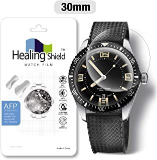 Smartwatch Screen Protector Film 30mm for Healing Shield AFP Flat Wrist Watch Analog Watch Glass Screen Protection Film (30mm) [1PACK]