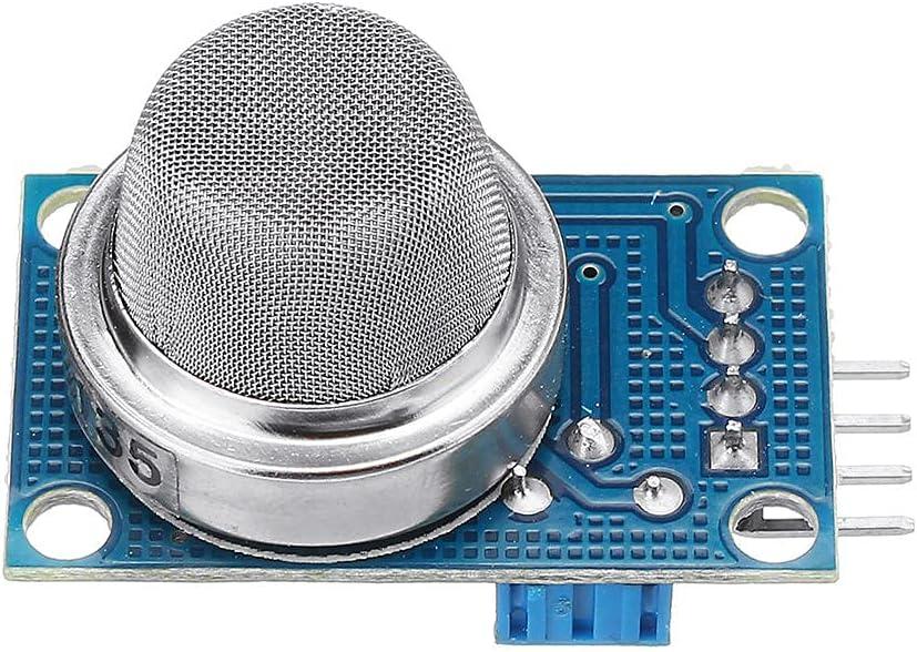 Módulo electrónico MQ-135 Sulfuro de amoníaco benceno vapor Sensor de Gas Licuado Escudo módulo detector electrónico for A-r-d-u-i-n-o - productos que funcionan con placas A-r-d-u-i-n-o oficiales 3pcs