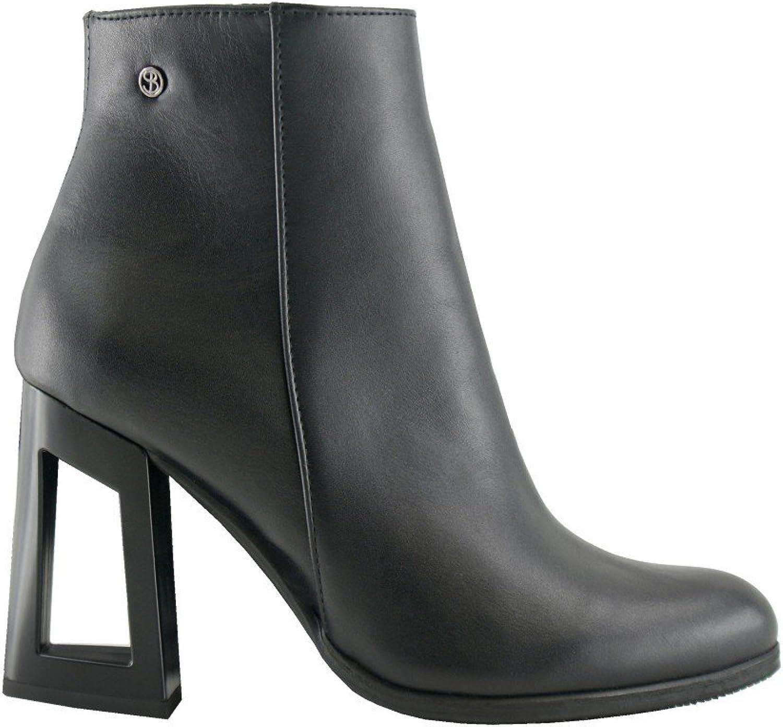 BOSCCOLO 4662 Stiefeletten, Stiefel with Hollow Heel, Stiefelies, Stiefel, Leder, Leder, Leather, Cuir  billiger Verkauf