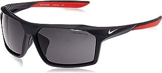 Nike Men's EV1032 010 Rectangular Sunglasses, Grey, 65 mm