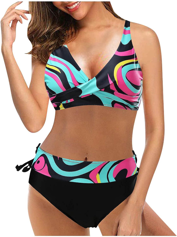 Sexy Bikini Longer Length Tankini top(Multicolor, M)