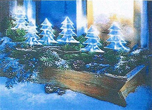 6er Tannenbaum Lichterkette