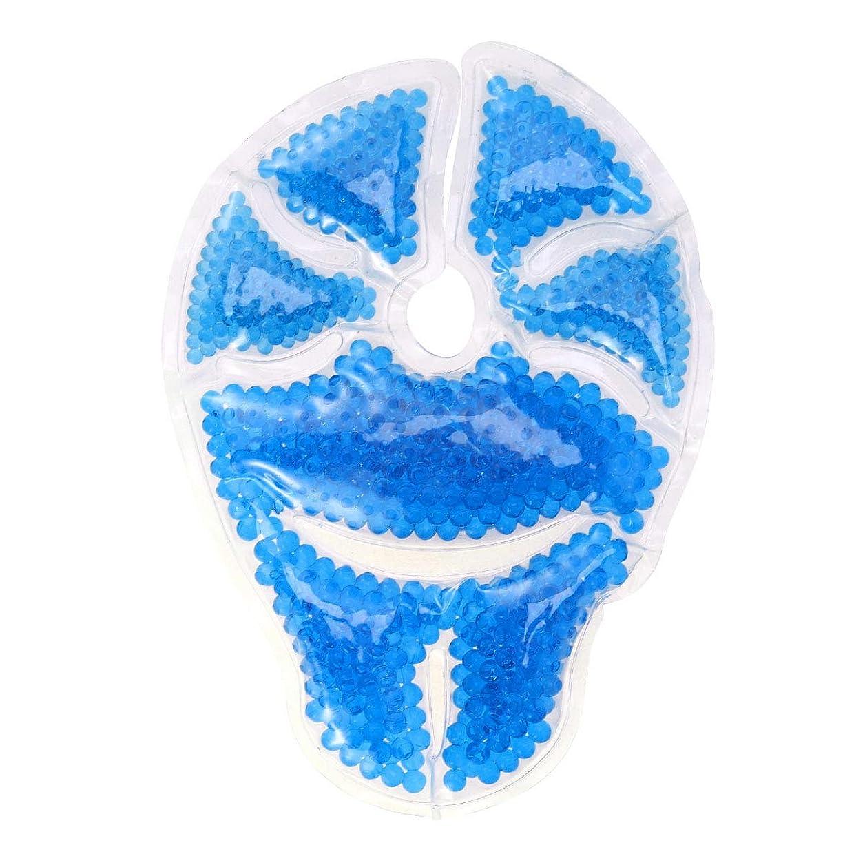 ギャング外交モットーHealifty 乳房温熱療法用乳房治療ジェルパッドアイスパック詰め合わせ用ミルク生産とレリーフブルー