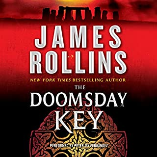 The Doomsday Key     A Sigma Force Novel, Book 6              By:                                                                                                                                 James Rollins                               Narrated by:                                                                                                                                 Peter Jay Fernandez                      Length: 14 hrs and 27 mins     1,400 ratings     Overall 4.2