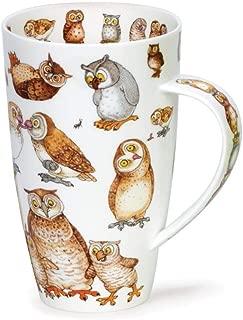 Dunoon Henley Fine China TWITTERS OWL Mug Cup 600ml 20.29 fl oz