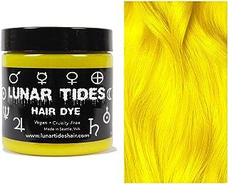 Lunar Tides Hair Dye - Citrine Bright Yellow Semi-Permanent Vegan Hair Color (4 fl oz / 118 ml)
