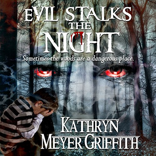 Evil Stalks the Night audiobook cover art