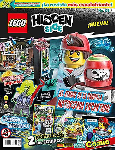 Lego Hidden Side N.5 ¡Motociclista encantada!