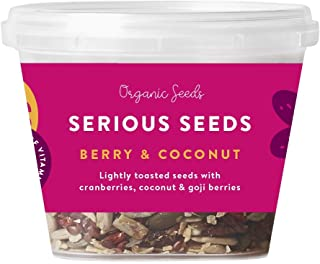 Serious Foods Seeds, Berry and Coconut, 120 g