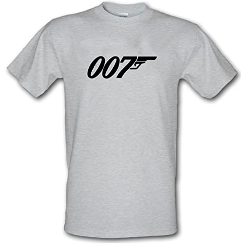 23a9e155c JAMES BOND 007 Licensed to Kill logo Heavy Cotton t-shirt Small - XXL