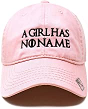 Game of Thrones | A Girl has no Name | Dad Hat Cotton Baseball Cap Polo Style Low Profile