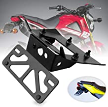 Sporacingrts Motorcycle Fender Eliminator License Plate Mount Kit Compatible with Honda Grom / MSX125 2017 2018 2019