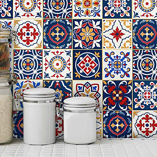 Mosaic Tile Peel and Stick Removable Wallpaper 17.7