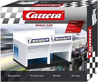 Carrera - Pit Lane de Michelin, escala 1:32, color Blanco (20021104)
