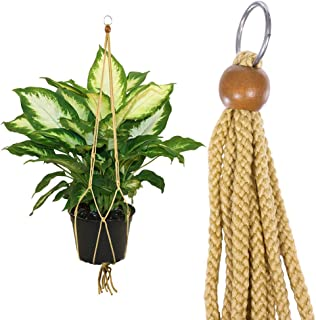 Tan - Plant Hanger 36 Inch - Great Home and Office Decor