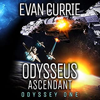 Odysseus Ascendant     Odyssey One, Book 7              Written by:                                                                                                                                 Evan Currie                               Narrated by:                                                                                                                                 David de Vries                      Length: 8 hrs and 34 mins     6 ratings     Overall 4.3