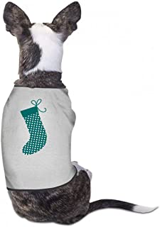 Pet Clothes Christmas Pet Clothes Dog T-Shirts Clothes Merry Christmas Dogs Summer Vest Costumes Summer Shirt Soft Sweatshirt - (Sky Blue, Gray, Yellow, Black)