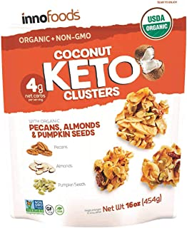 Coconut Keto Clusters with Organic Pecans, Almonds & Pumpkin Seeds