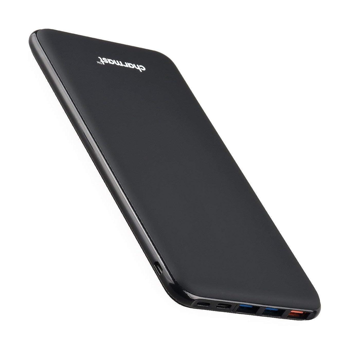 社会もっともらしい前Charmast 26800mAh モバイルバッテリー 大容量 PSE認証取得 Type-C PD対応 QC3.0 iPhone Android MacBook 急速充電 (ブラック)
