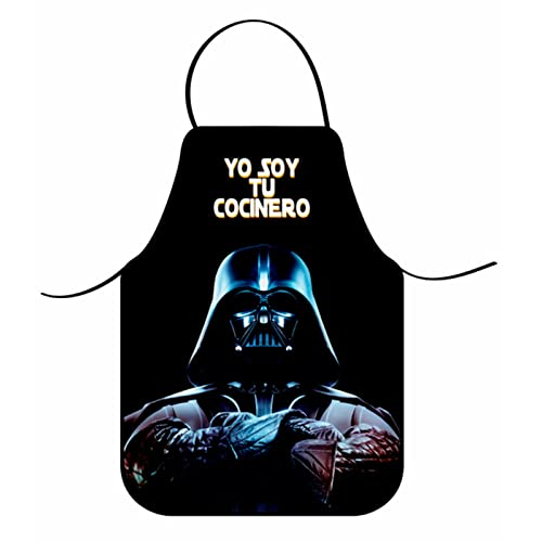 COVERBAGBCN Delantal Star Wars/Darth Vader
