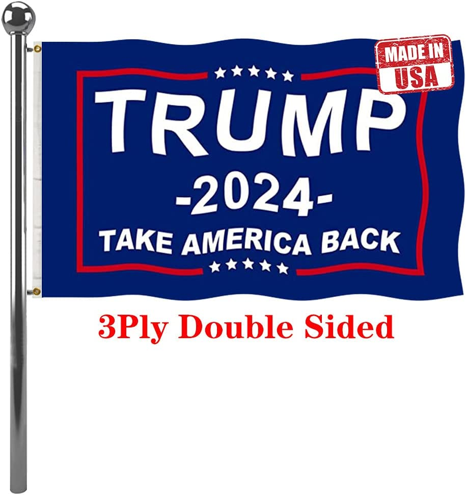 Jayus 3Ply 200D Donald Trump For Flag 2024 overseas Outdoor President 3x5 Large-scale sale