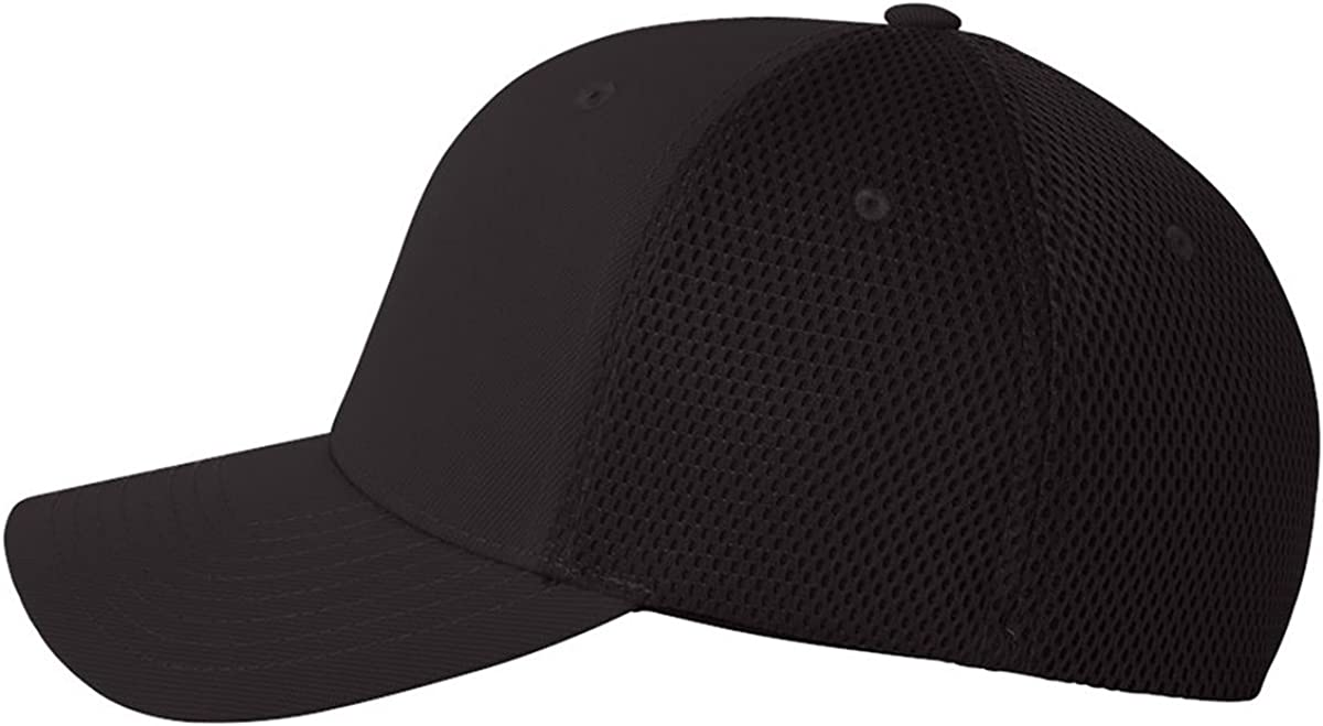 Ultrafiber Caps with Air Mesh Sides Fitted Baseball Trucker Hats 6533 Flexfit