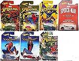 Mattel Hot Wheels DWD14 Marvel Limited Basic Car Spiderman Movie, je 1 Fahrzeug, zufällige Auswahl