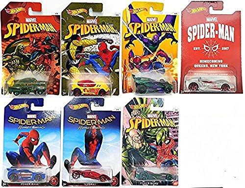 Mattel - Hot Wheels Vehículos Marvel, Modelos surtidos