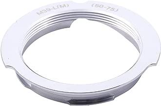 SODIAL R  Camera Lens Mount Adapter 50-75mm For Leica Thread Screw Mount M39-L M  LSM LTM