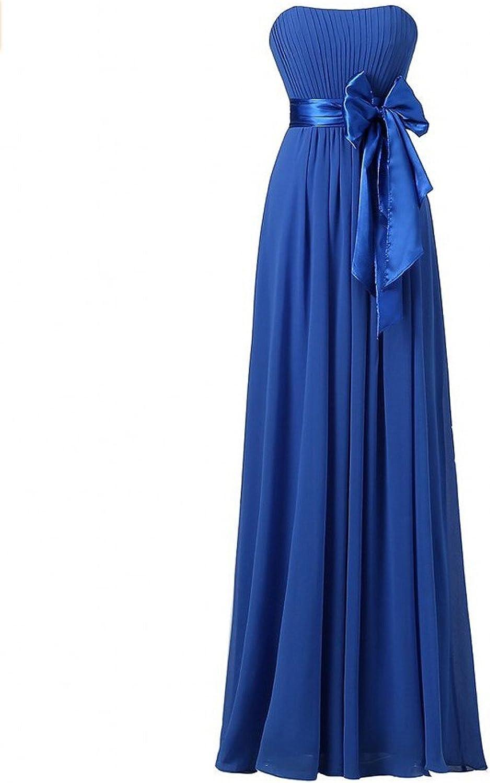AK Beauty Women's Strapless ALine Long Evening Dresses