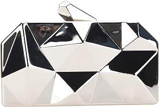 Bonjanvye , Damen Tote-Tasche Small, Silber - silber - Größe: Small