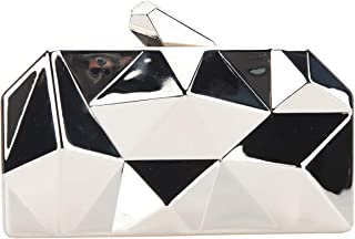 Polygon Evening Bags And Clutches For Women Box Clutch Purse