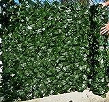 Best Artificial (TM) - Mur de clôture de feuille de lierre anglais - 3m x 1,5m -...
