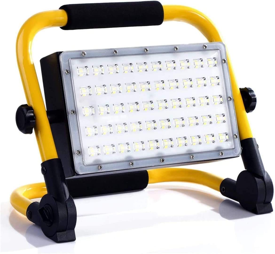 YAOJIA Fort Worth Mall Led Work Lights 50W Floodlight Rechargeable Portabl Selling