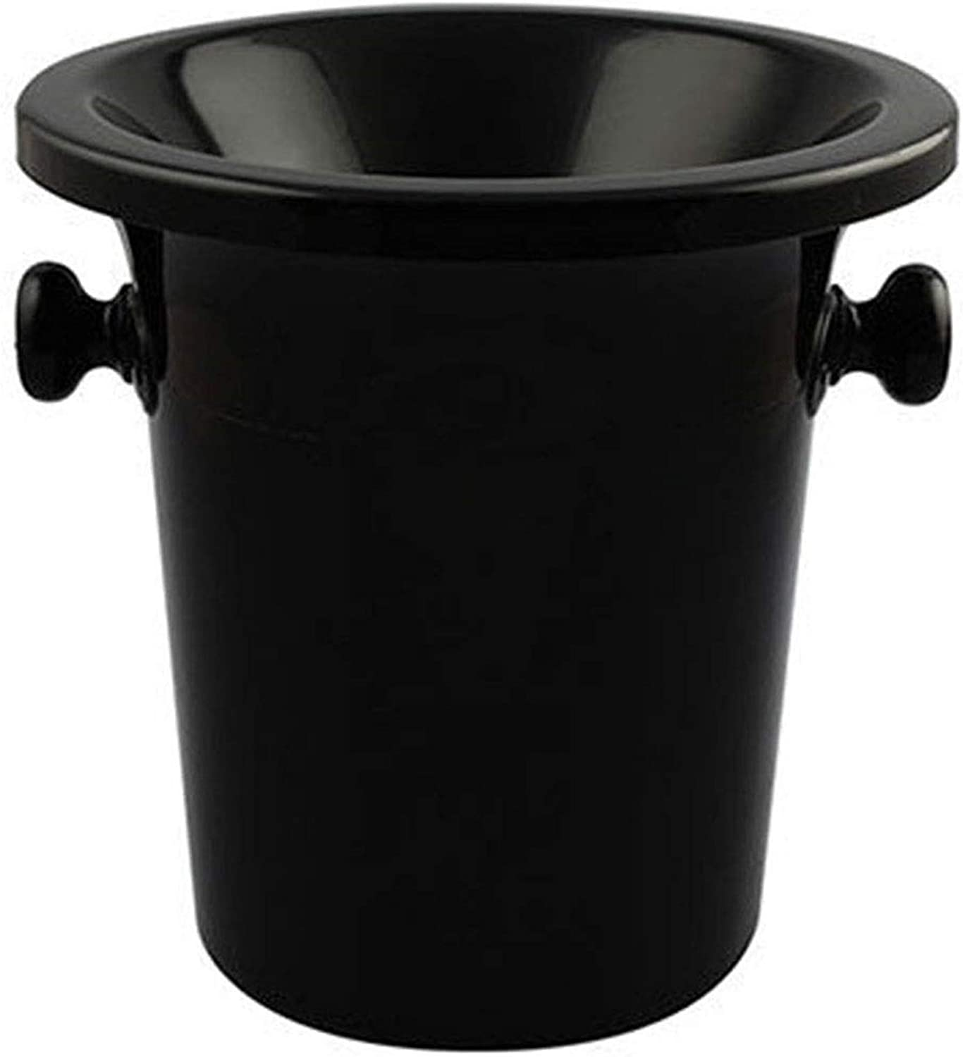 Over item handling ☆ YYZWNC Wine Bottle Ice Bucket Hand Black Made security Walled Double In