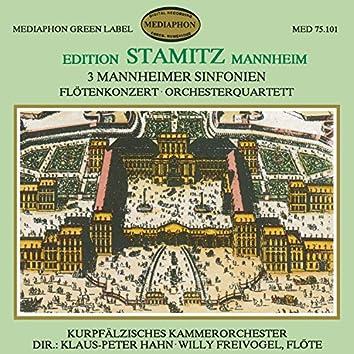 Edition Stamitz Mannheim, Vol. 1
