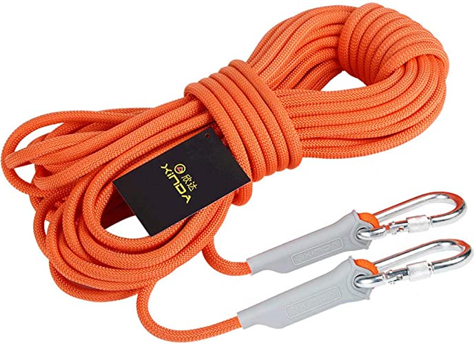 Anddod XINDA 9.5mm 12KN Outdoor Professional Hiking Rock Climbing Rope High Strength Safety Cord