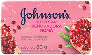 Sabonete Barra Romã, Johnson's, 80G