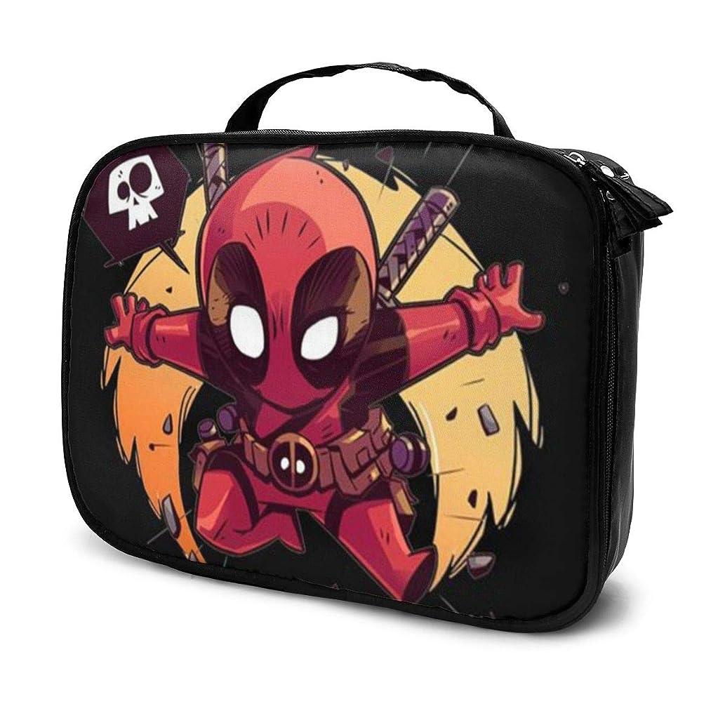 連想水銀の開拓者Daituかわいい小さなスパイダーマン 化粧品袋の女性旅行バッグ収納大容量防水アクセサリー旅行