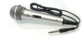 TOPTECH Audio TT220 Hand HELD UNIDIRECTIONAL Dynamic Microphone (Silver)