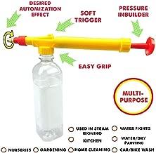 Kids Dukaan Bottle Spray Gun for Water Gun Holi, Pesticide Car Wash Brass Nozzle Sprayer pichkari