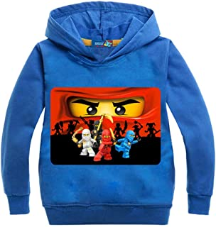 Casual Hoodies for Toddler/Teen Boys Girls Cartoon Sweatshirt