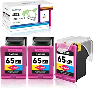 BAISINE Remanufactured Ink Cartridge Replacement for HP 65 65XL Eco-Saver for Envy 5055 5010 5014 5058 5052, Deskjet 2655 ...