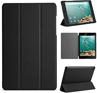 for Google Nexus 9 8.9 inch Tablet Smart Cover, Ultra Slim Lightweight Folio Stand with Sleep/Wake Up Function Leather Case for HTC op821 8.9